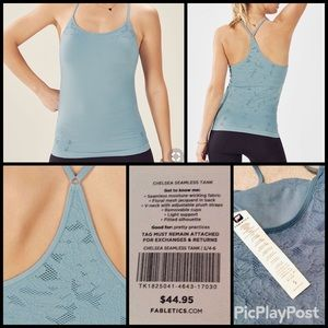 e9a9725f6ce389 Fabletics Tops - Fabletics Chelsea Seamless Tank